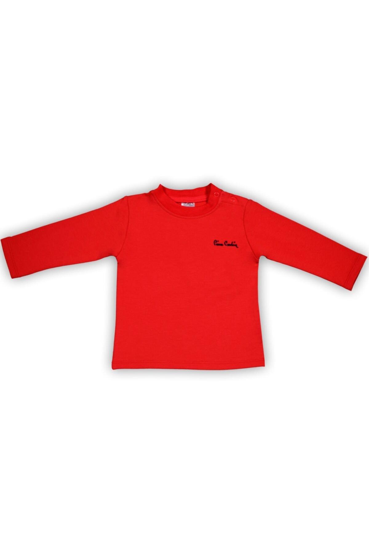 Pierre Cardin Kırmızı Iki Iplik T-shirt 1