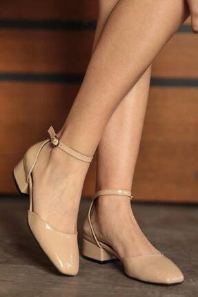 Mio Gusto Taylor Ten Rugan Kısa Topuklu Ayakkabı