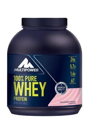 Multipower Whey Protein 2.000 Gr Çilek