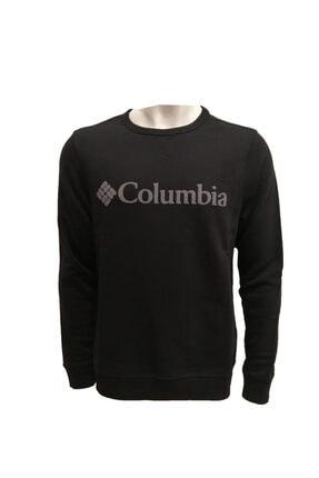 Columbia Kadın Siyah  Logo Sweatshirt Cs0091-010
