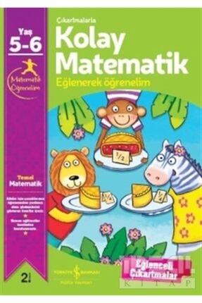İş Bankası Kültür Yayınları Çıkartmalarla Kolay Matematik 5-6 Yaş