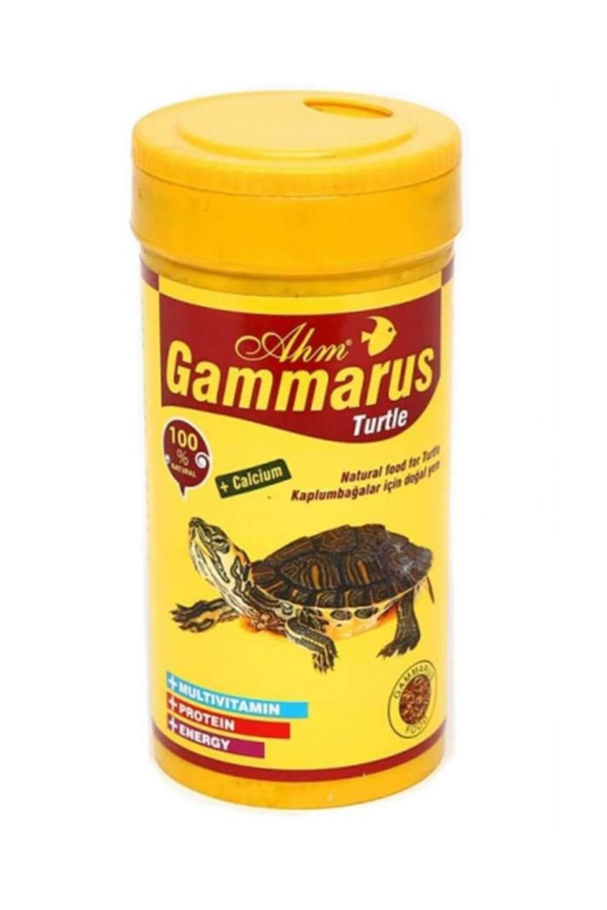 Ahm Gammarus Kaplumbağa Yemi 250 Ml 1