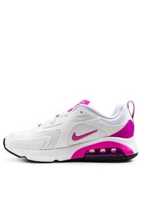 Nike Kadın  Beyaz Pembe Günlük Spor Ayakkabı