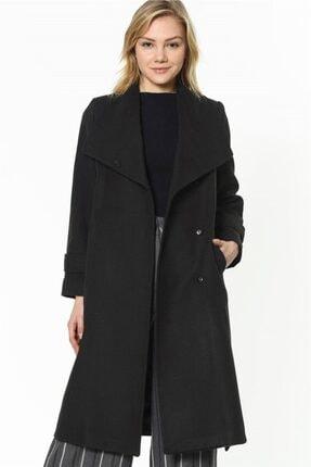 Dewberry Kadın Siyah Palto Z6626