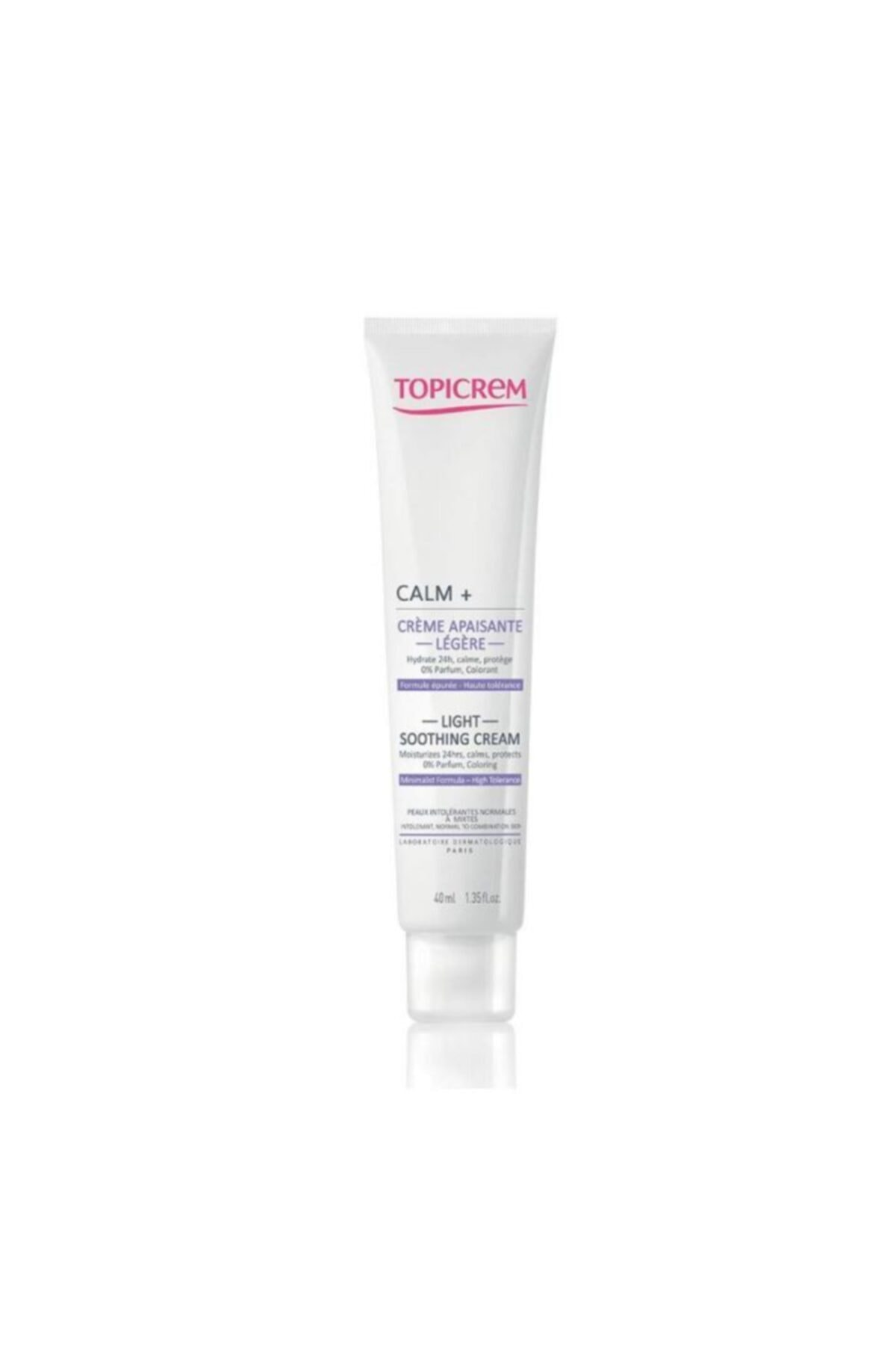 Topicrem Calm+ Ultra Moisturizing Soothing Light Cream 40ml 1