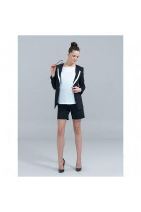 Charismom Kadın Siyah Hamile Ceket