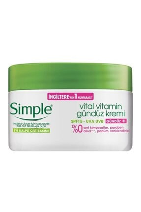 Simple Vital Vitamin Gündüz Kremi Spf15 50 ml