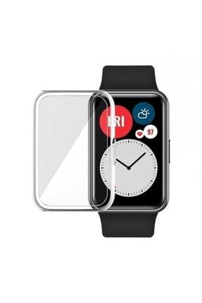 Ekoodukkan Huawei Watch Fit 360 Koruma Ultra Ince Silikon Kılıf