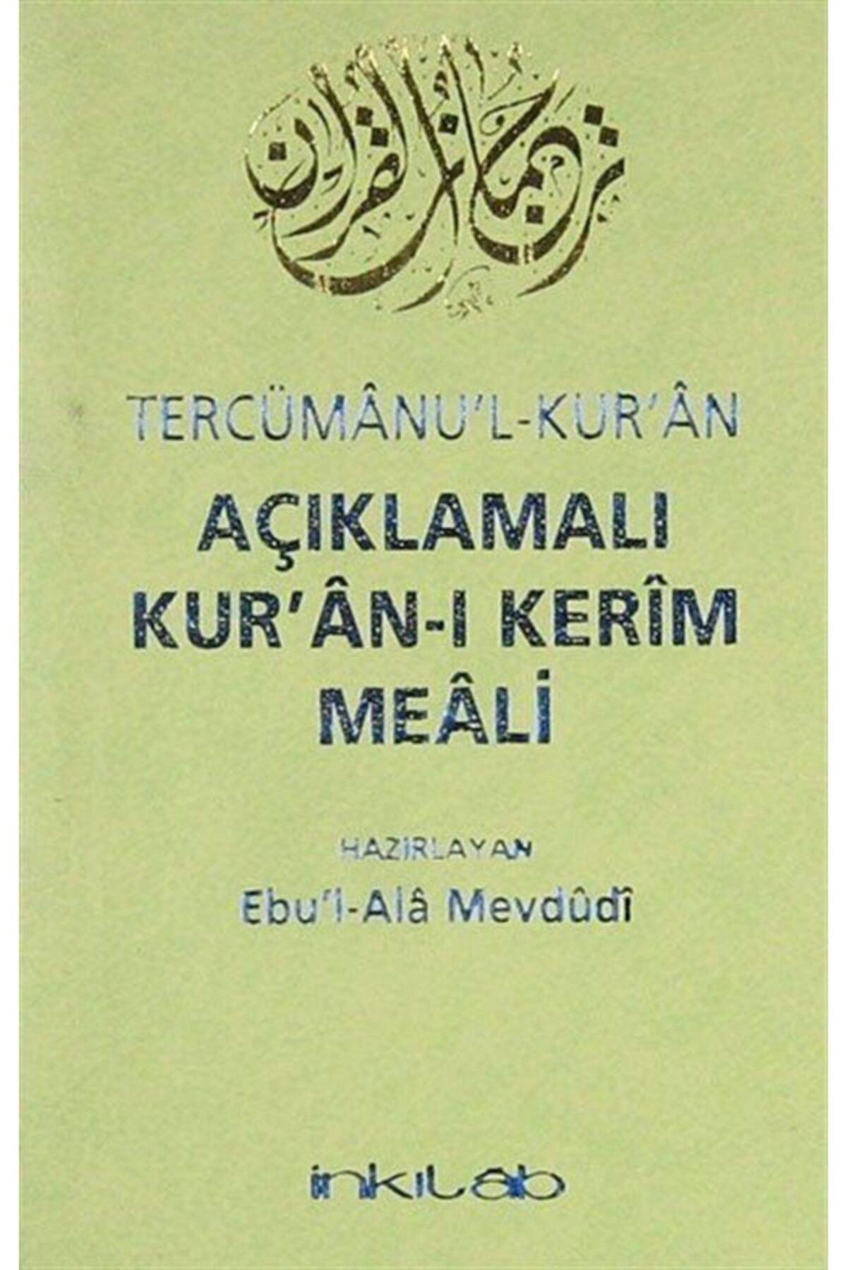 İnkılab Yayınları Tercümanu'l-kuran Açıklamalı Kur'an-ı Kerim Meali (cep Boy) 1