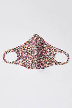 DeFacto Kadın Çiçek Desenli Yıkanabilir Maske