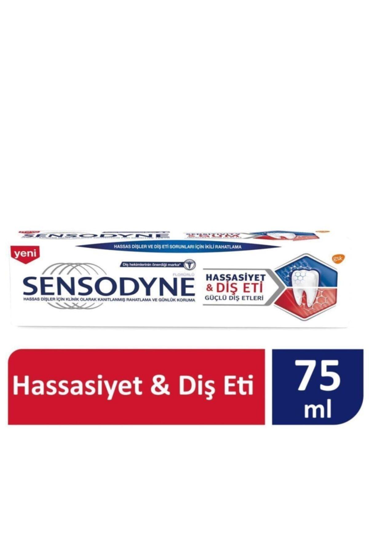 Sensodyne Hassasiyet & Diş Eti Diş Macunu 75 ml 1