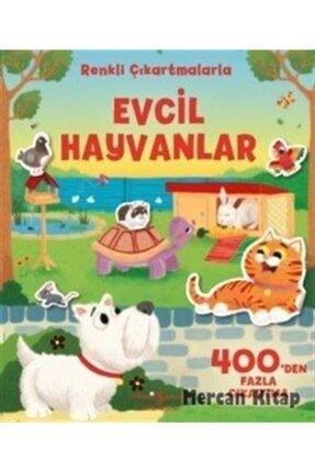 İş Bankası Kültür Yayınları Evcil Hayvanlar Renkli Çıkartmalarla