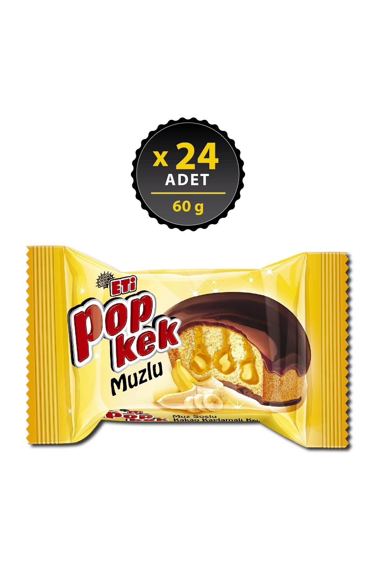 Eti Popkek Muzlu 60 G X 24 Adet 1