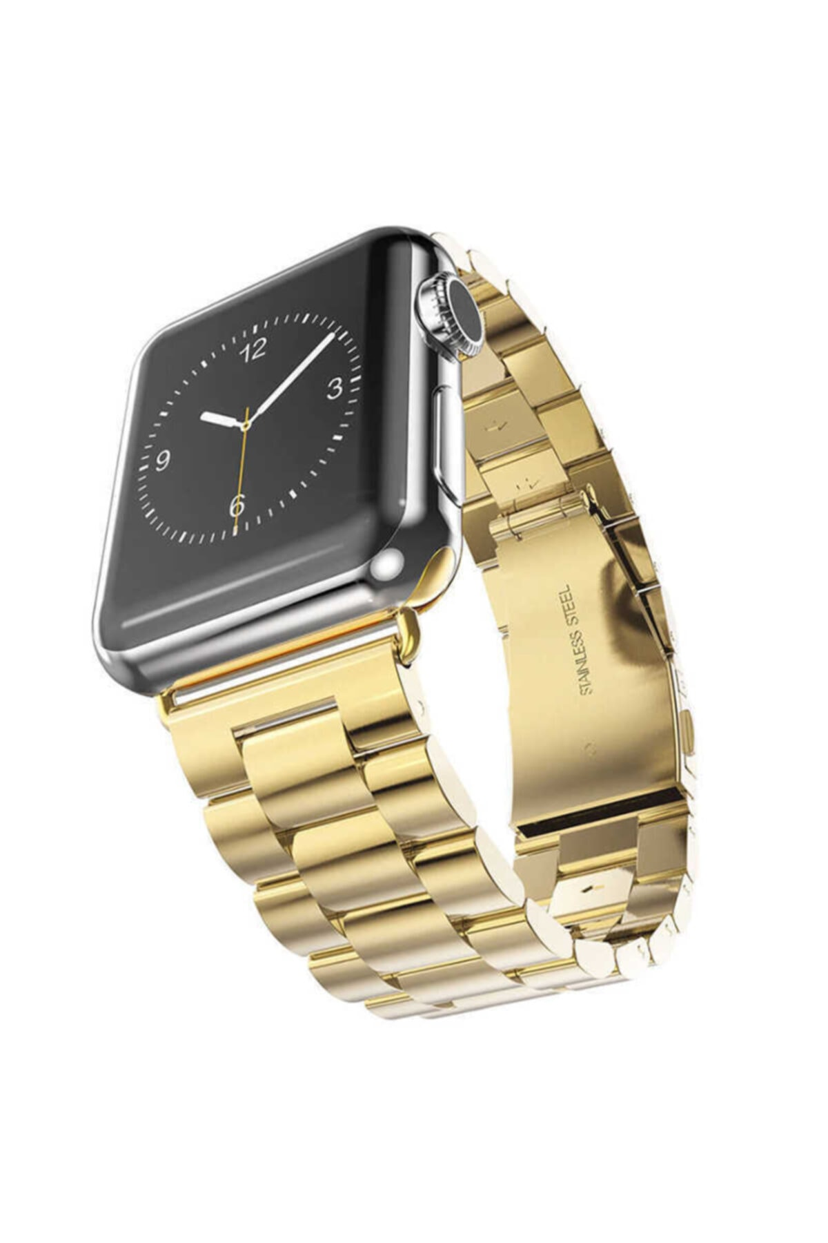 zore Apple Watch 1 2 3 4 5 6 Serisi 40mm Yandan Klipsli Ayarlanabilir Metal Kordon (krd-04) 1
