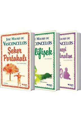 Can Yayınları Jose Mauro De Vasconcelos 3 Lü Kitap Seti Şeker Portakalı - Güneşi Uyandıralım - Delifişek