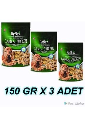 Reflex Plus Reflex Semı-moıst Av Hayvanlı & Tavuklu 150 Gr 3 Adet