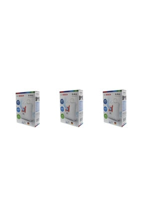 Bosch Elektrikli Süpürge Toztorbası G Tipi (3 Kutu)