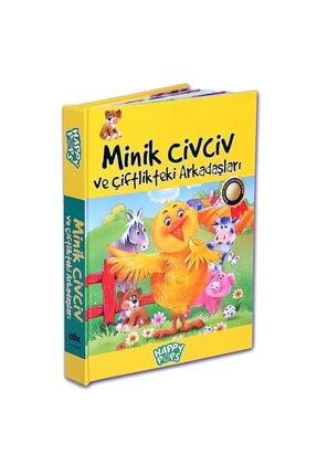 Abc Yayınları Minik Civciv ve Çiftlikteki Arkadaşları (3 Boyutlu)