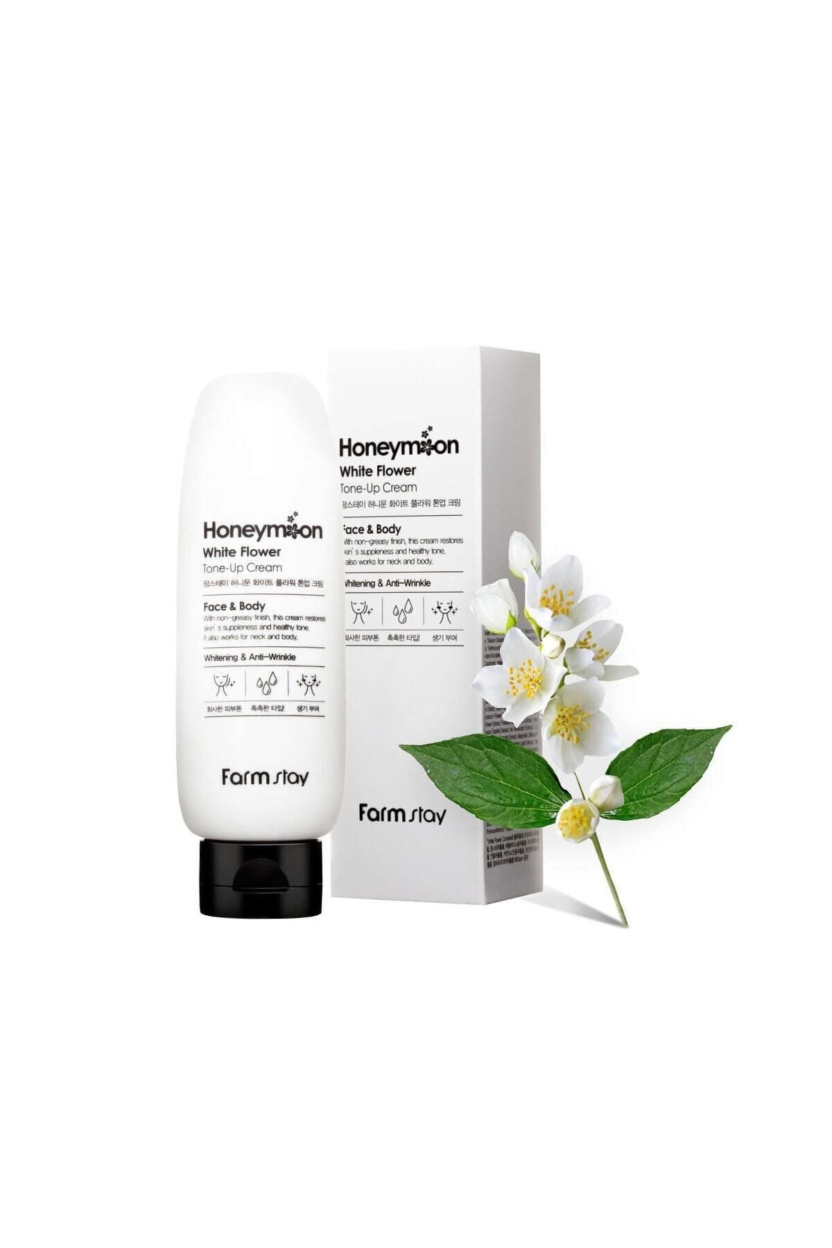 Farmstay Honeymoon White Flower - Cilt Ve Vücut Beyazlatıcı, Kırışıklık Ve Bakım Kremi 2