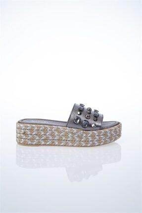 Pierre Cardin PC-6131 Platin Kadın Sandalet