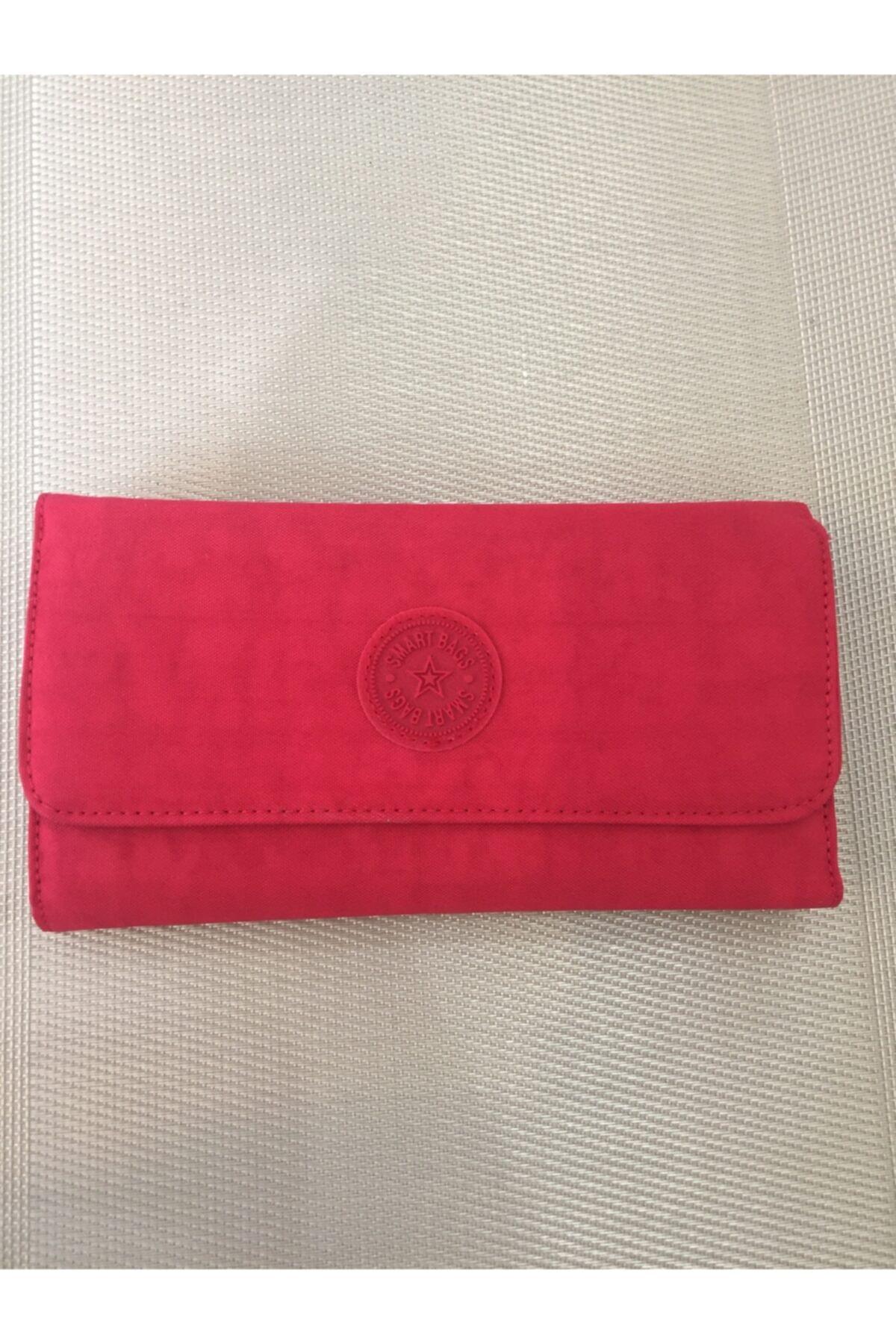 SMART BAGS Kadın Kırmızı El Çantası 1