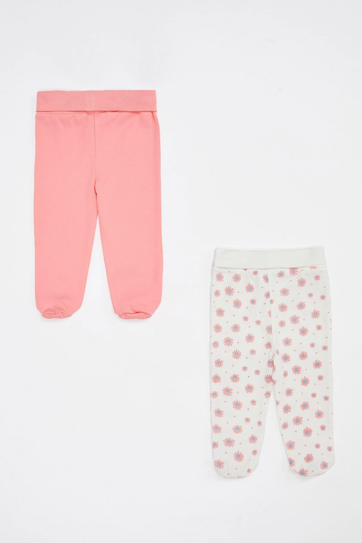 DeFacto Kız Bebek Yeni Doğan Pantolon 2