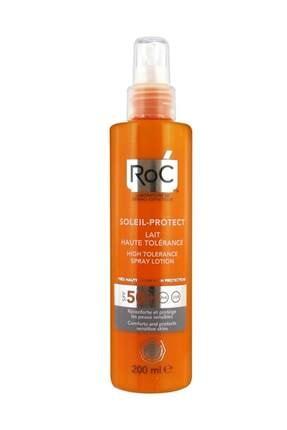 Roc Hassas Ciltler Için Güneş Koruyucu Sprey - Soleil Protect Spray Lotion Spf 50 200 Ml 3574661187143