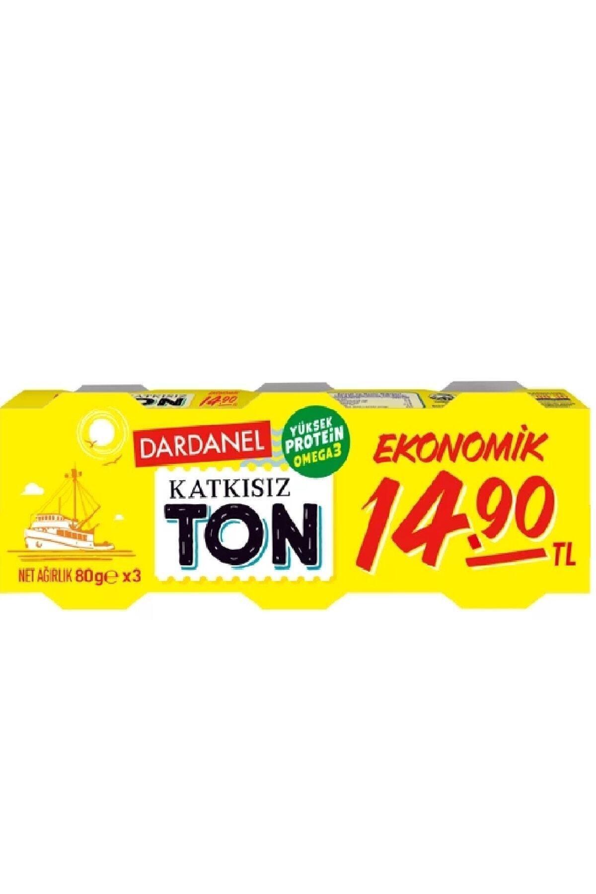 Dardanel Ton Balığı Ekonomik 80 Gr 3'lü 1 Paket 1