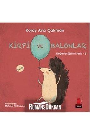Kırmızı Kedi Yayınevi Kirpi Ve Balonlar
