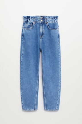 MANGO Woman Kadın Mavi Jeans
