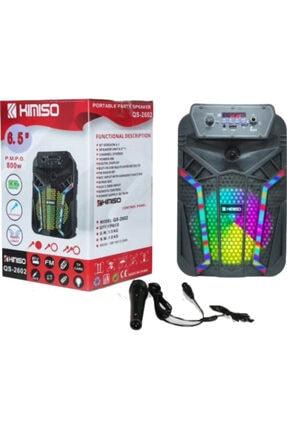 Platoon Bluetooth Speaker Karaoke Mic. Usb/sd Pl-4435