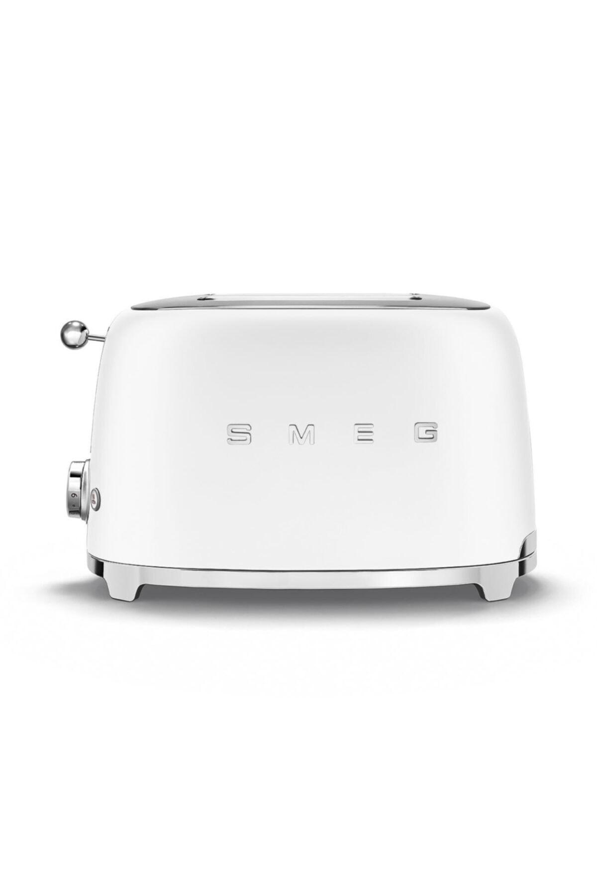 SMEG Mat Beyaz Retro 2x1 Ekmek Kızartma Makinesi 1