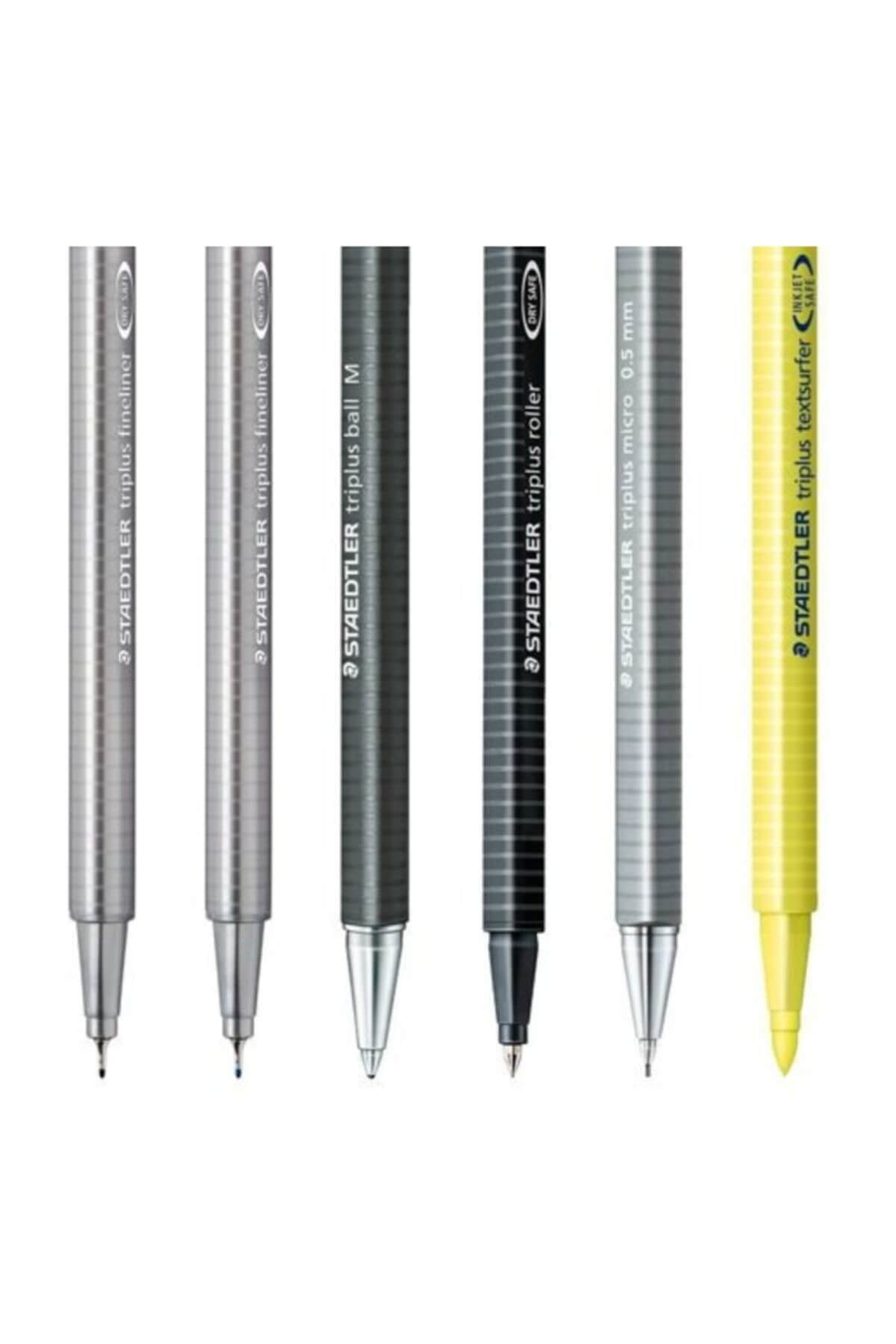 Staedtler Triplus Mobile Office Black Box 6`lı Plastik Kutulu Set 2