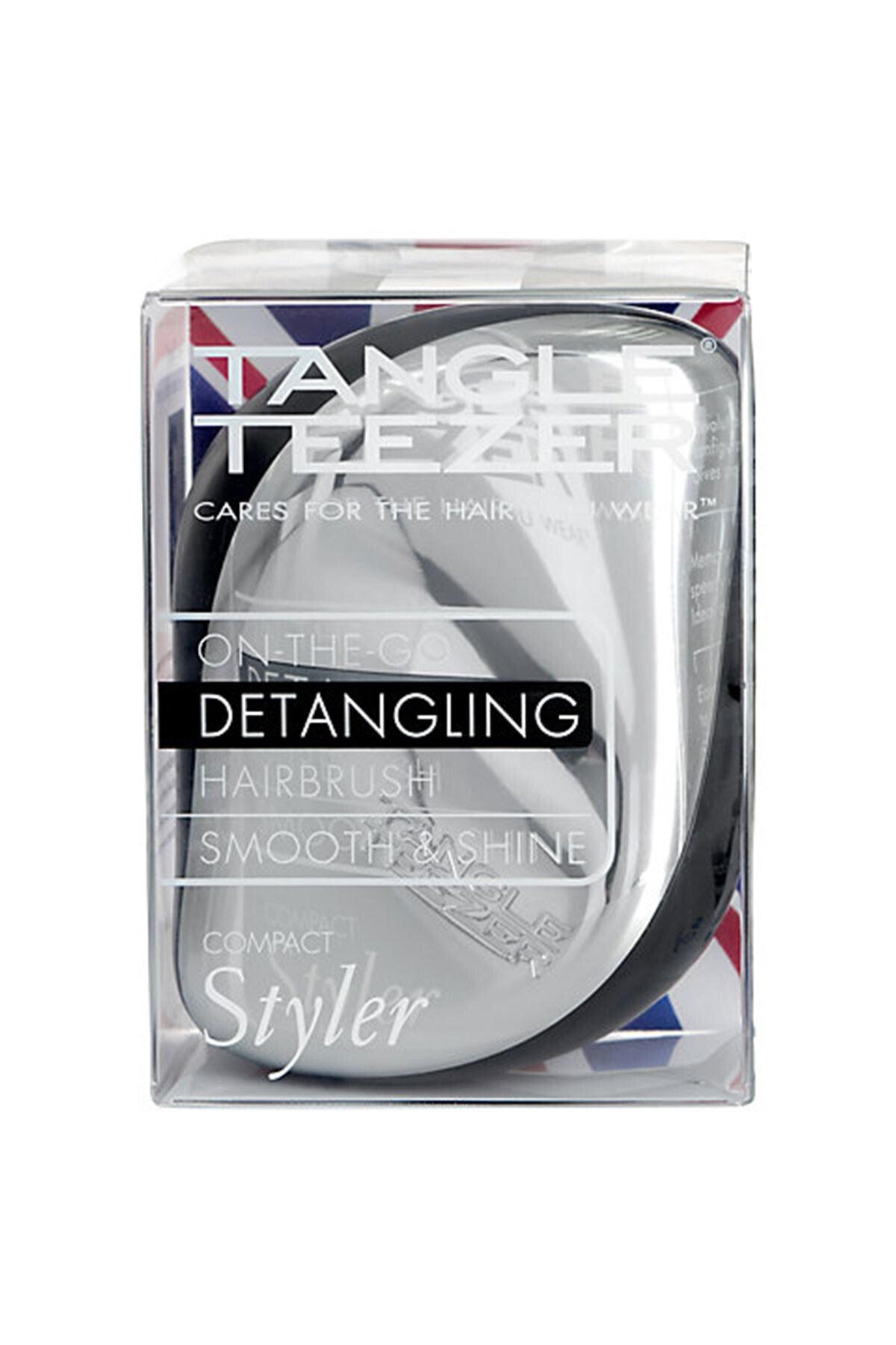 Tangle Teezer Compact Styler Gümüş Tarak 1