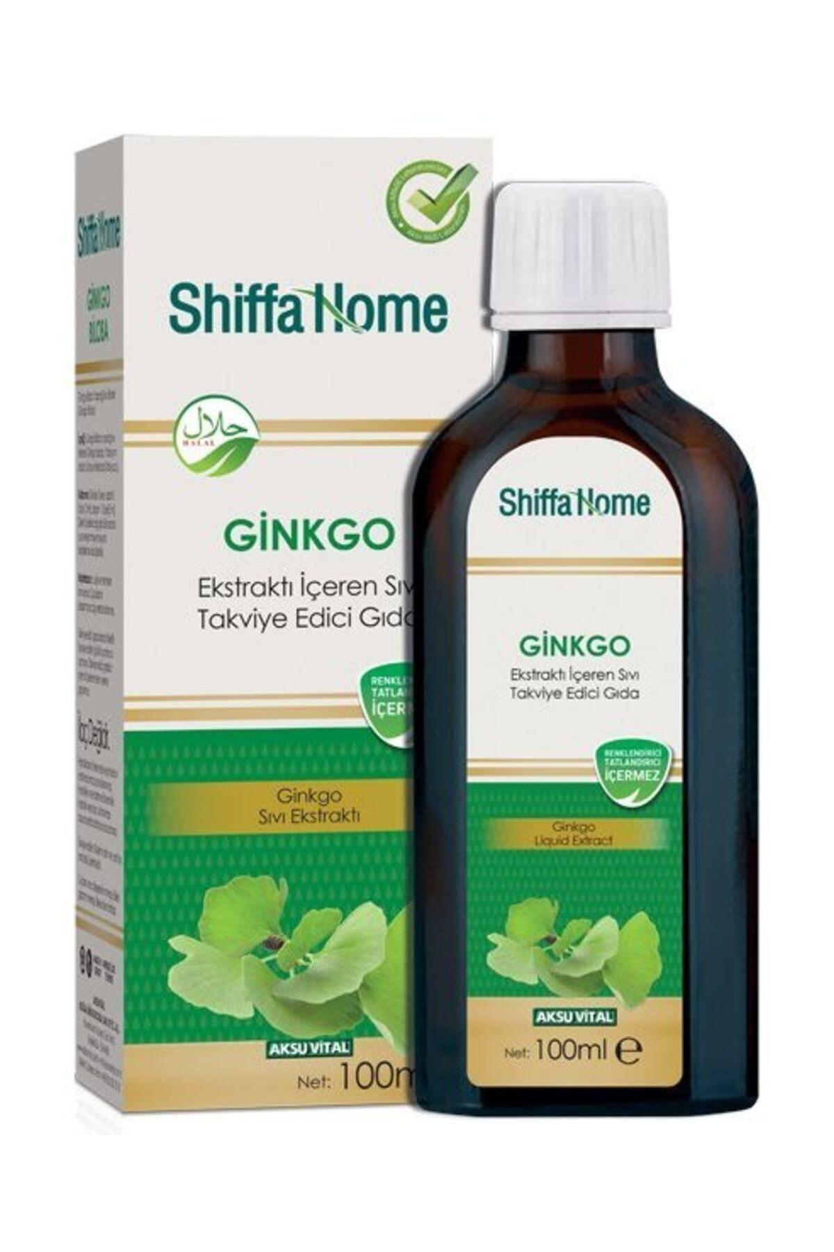 Shiffa Home Ginkgo Ekstraktı İçeren Sıvı Takviye Edici Gıda 100 ml 1