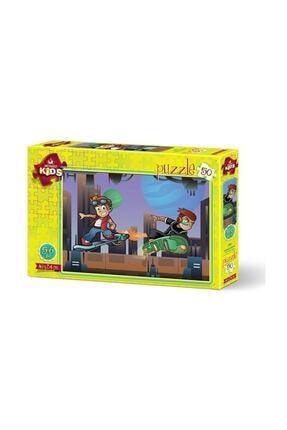 Anatolian Puzzle Kids - 50 Parça Kaykaycı Çocuk Puzzle /