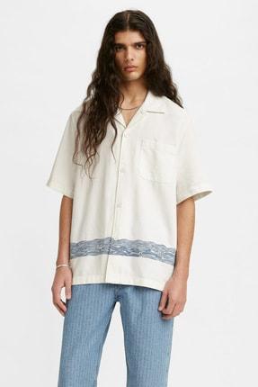 Levi's Erkek Lmc Relaxed Camp Shirt Lmc Channel Çok Renkli Erkek Gömlek 1755100030