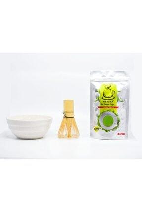 Karadeniz Matcha Matcha Çayı Bambu ( Whisk ) Karıştırıcı Özel Matcha Kasesi