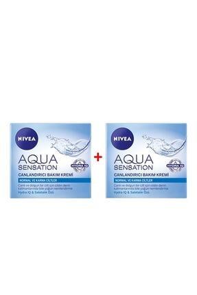 Nivea Aqua Sensation Canlandırıcı Bakım Kremi 50ml 2'li