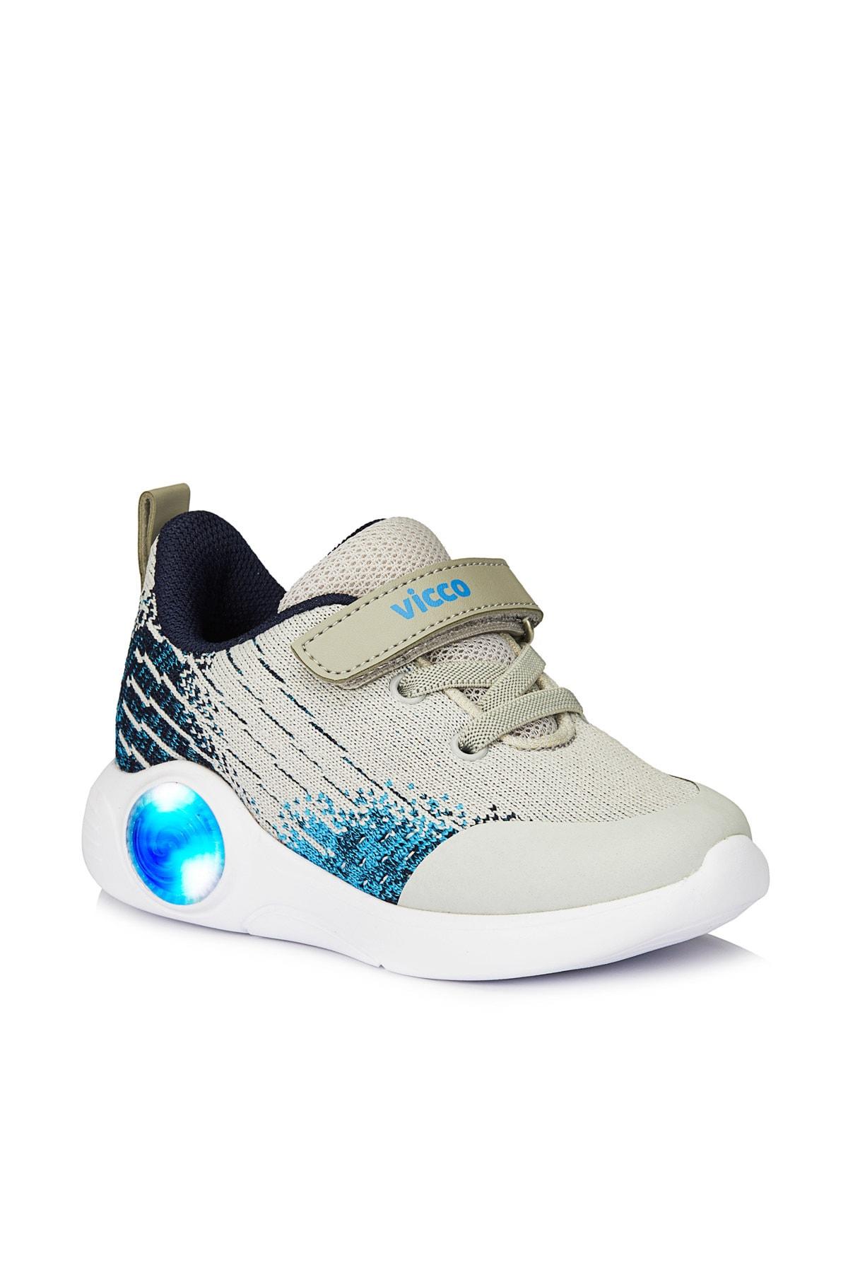 Vicco Neo Erkek Bebe Gri Spor Ayakkabı 1