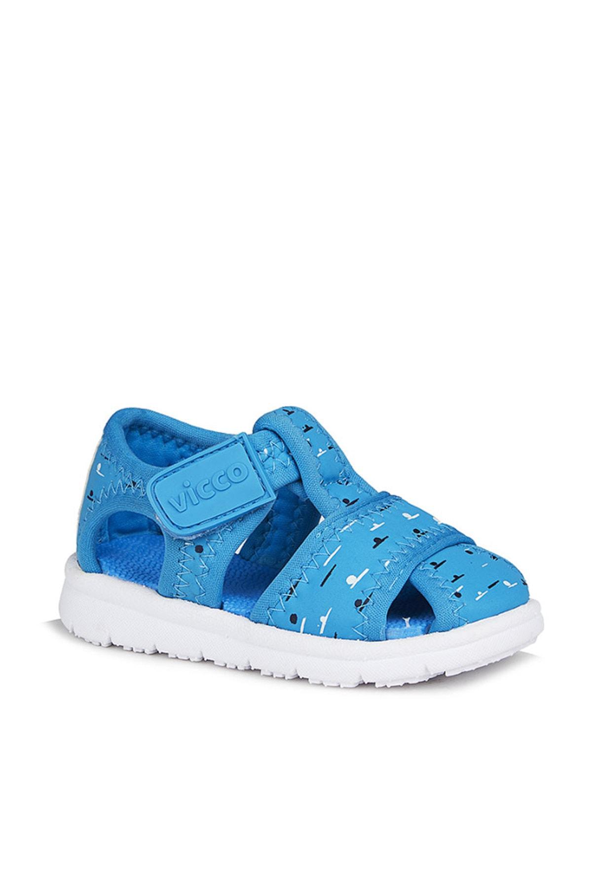 Vicco Bumba Erkek Ilk Adım Mavi Sandalet 1