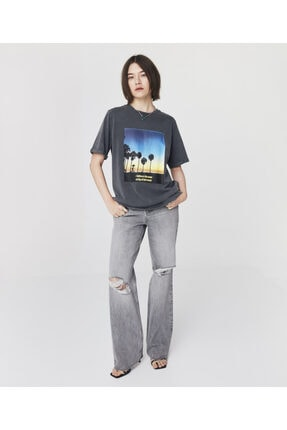 Twist Görsel Baskılı T-shirt