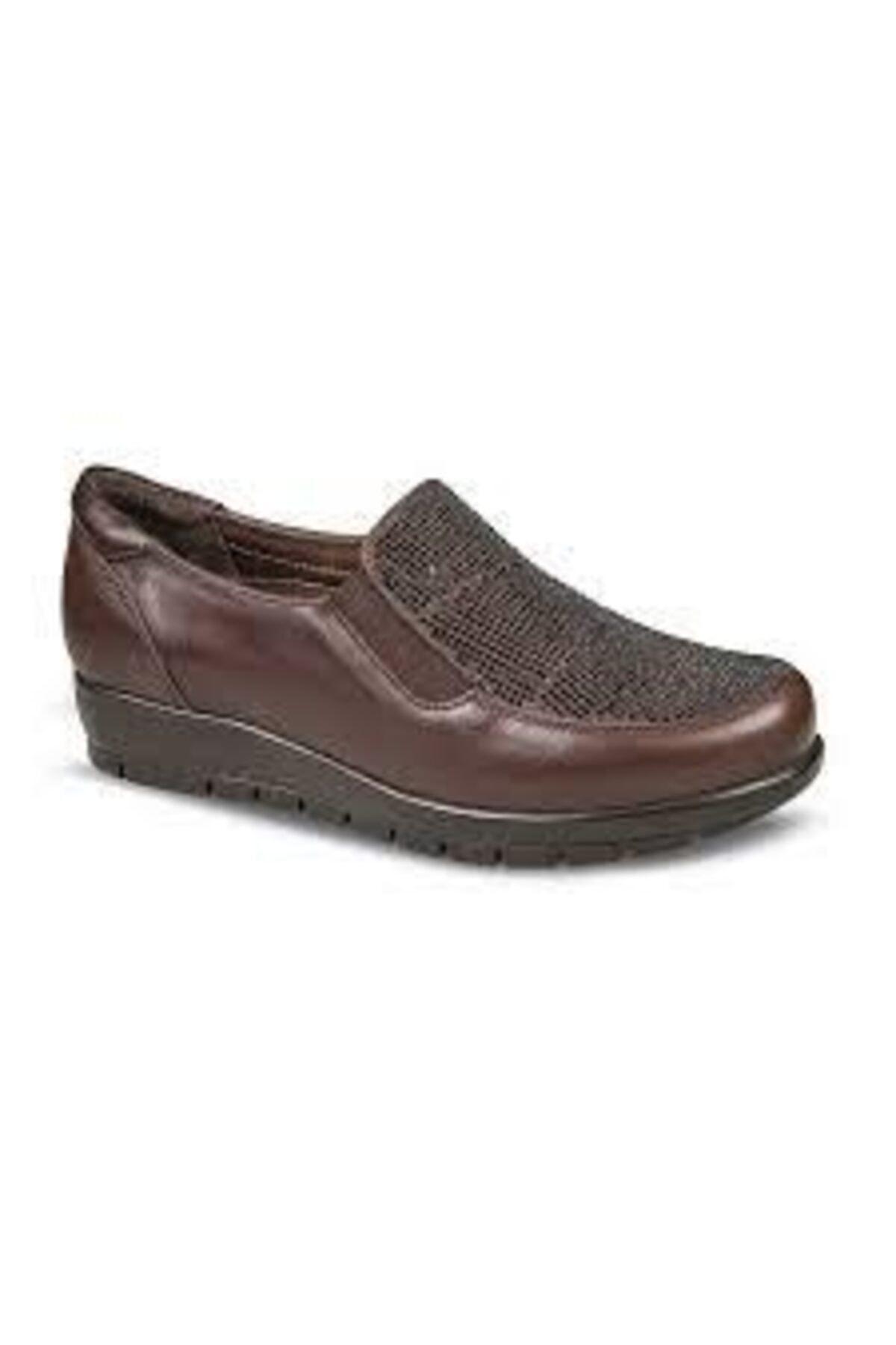 Ceyo Kadın Kahverengi Ayakkabı 1