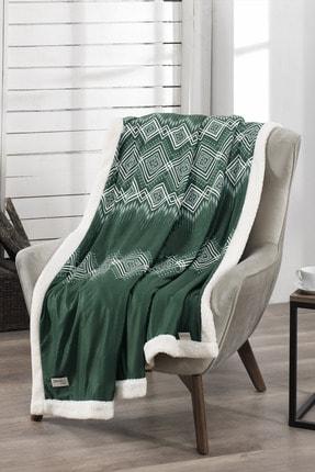 DENIZLI CONCEPT Anatolia Yeşil Wellsoft Battaniye 170x200 cm