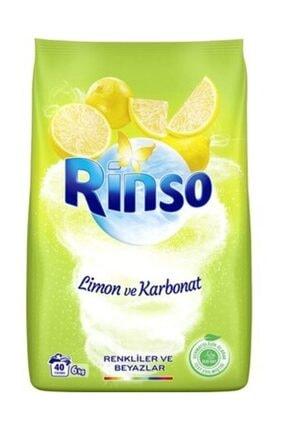 Rinso Toz Çamaşır Deterjanı Limon & Karbonat 6 kg
