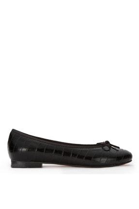 Sole Sisters Kadın Siyah Babet  Düz Ayakkabı