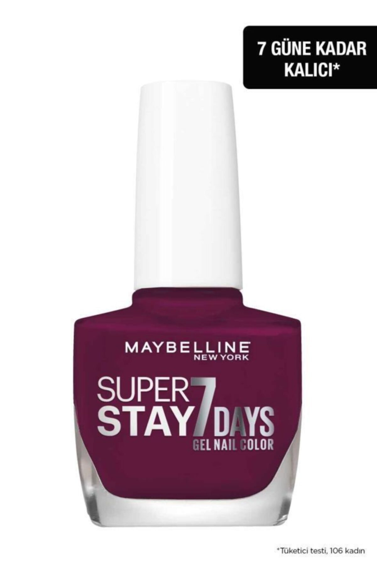 Maybelline New York Super Stay Oje- 270 Ever Burgundy 2