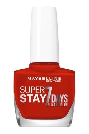Maybelline New York Super Stay Oje- 08 Passionate Red
