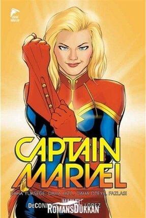 Çizgi Düşler Yayınevi Captain Marvel Cilt 1 Daha Yükseğe Daha Hızı Daha Öteye Fazlası