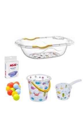 kitchen trend Lüx Bebek Yıkama Banyo Küvet Seti 5 Parça Giderli Küvet Seti